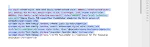 code pretty